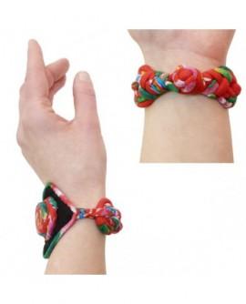Bracelet Losange et spirale multicolore