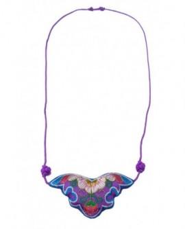 Chauve souris violette (Parure)