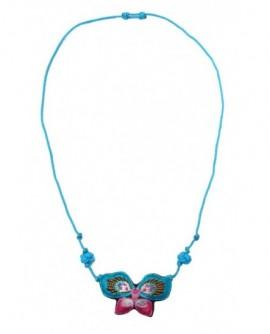 Papilon Bleu et Rose (Parure)