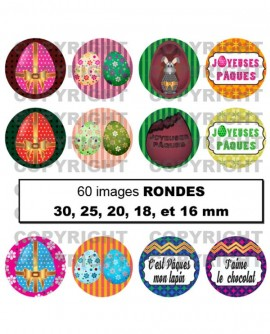 Motifs japonais rose orange rouge 60 Images digitales cabochon Ovales