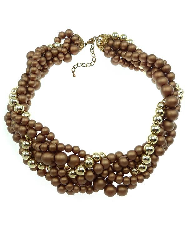 Bijoux Fantaisies Orleans : Collier de perles