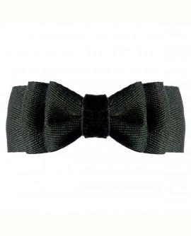 Pince à Cheveux pour femme : noeud noir classique