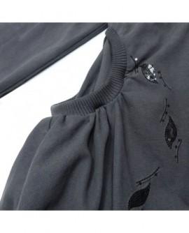 Poches brodées bouffantes (veste)