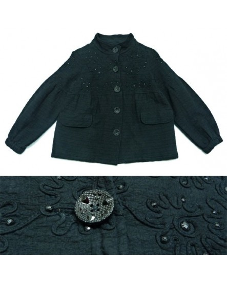 Strass noirs (veste)
