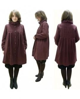 Plissée rouge sombre (veste)