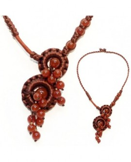 Cascade Marron (Collier)